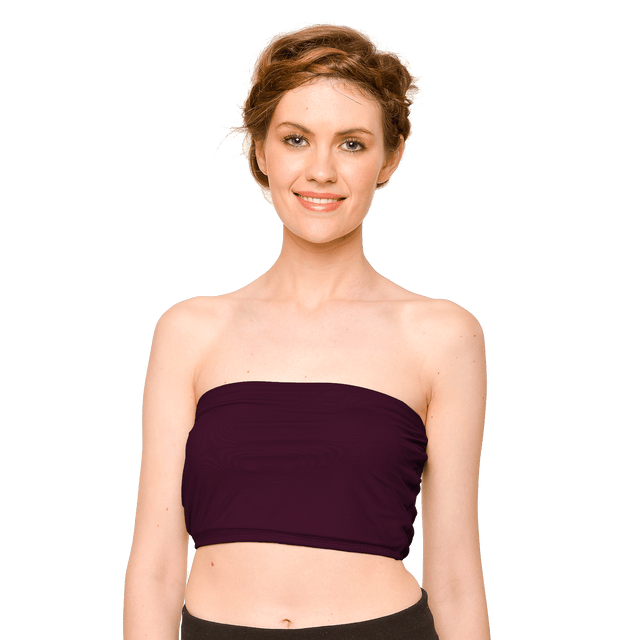 Cropped Tulle Bandeau