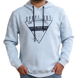 Sportking Men's Sky Graphic Print Hooded Sweatshirt