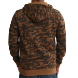 Sportking Men's Camo Camel Camouflage Print Hooded Sweatshirt