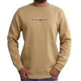 Sportking Men's Solid Beige Graphic Print Sweatshirt