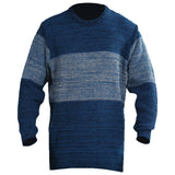 Sportking Men's Blue Striped Sweater