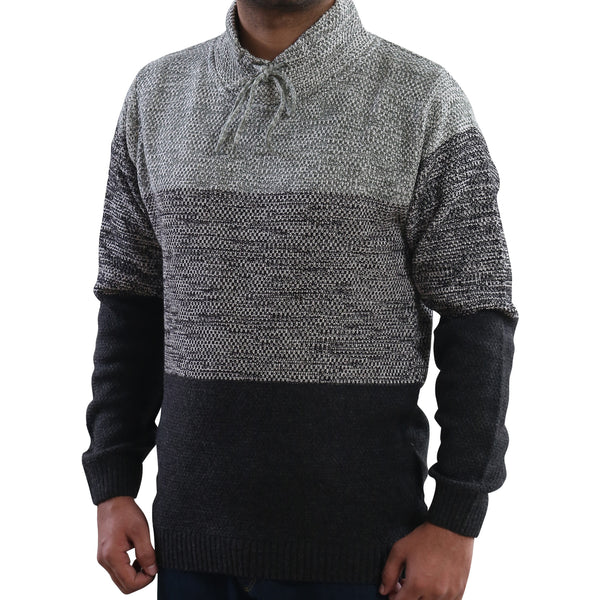 Sportking Men's Designer Grey Sweater