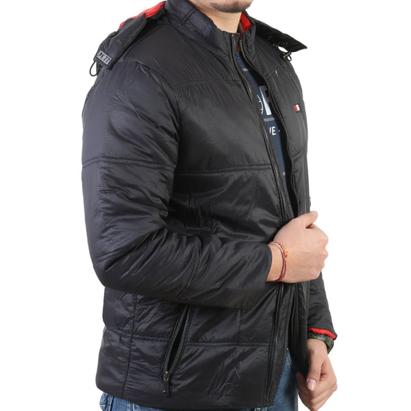 Sportking Men's BlackPuffer Jacket
