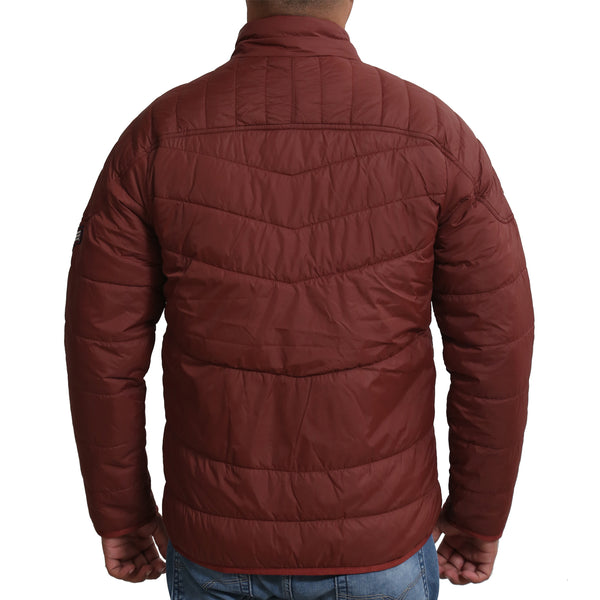 Sportking Men's Rust Puffer Jacket