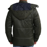 Sportking Men's Olive Puffer Jacket