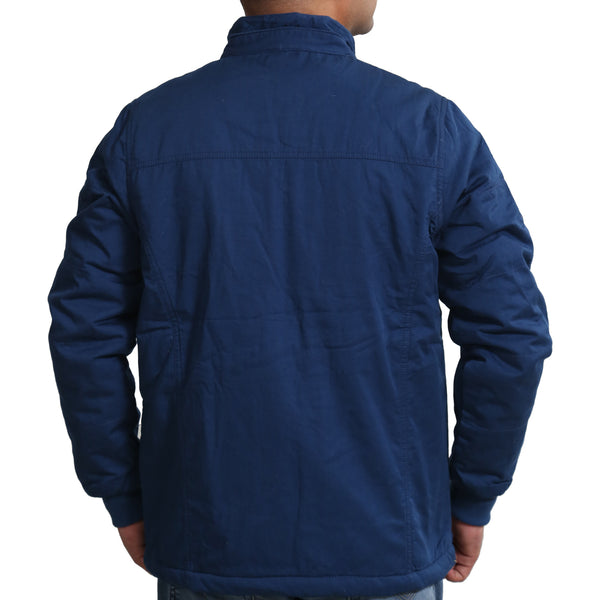 Sportking Men's Navy Solid Jacket