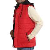 Sportking Men's Red Hooded Jacket