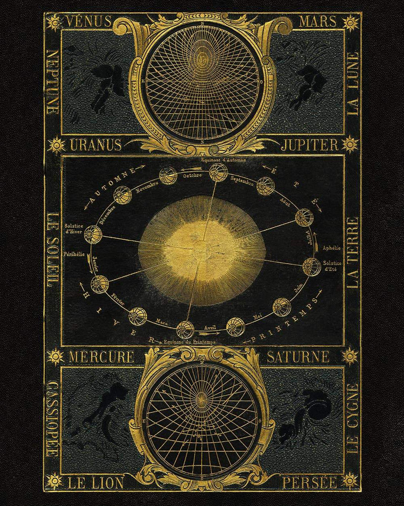 Capricorn Press - Gold Zodiac