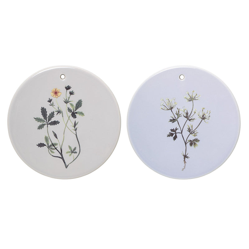 Flora Deco Platter - 2 colors