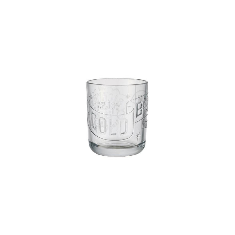 Cold Brew Coffee Tumbler - Clear