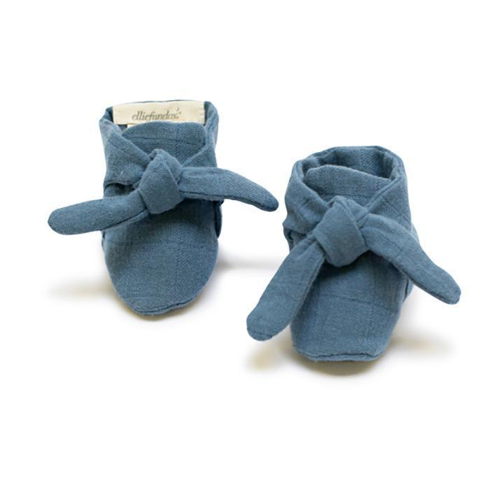 Ellie Fun Day - Ocean Blue Knotted Bootie