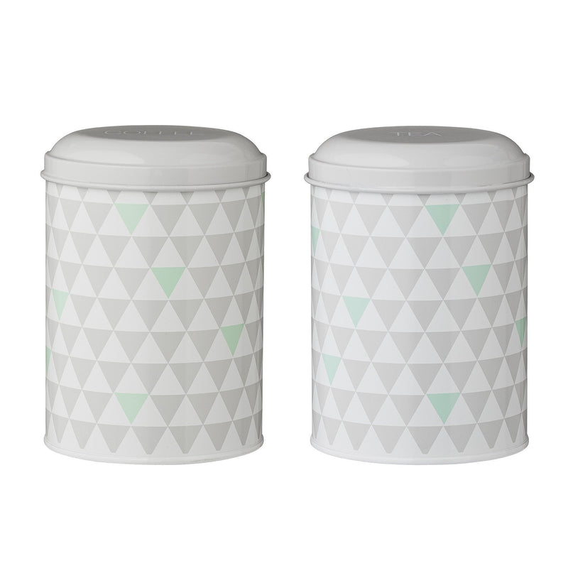 Olivia Canister, Grey, Steel