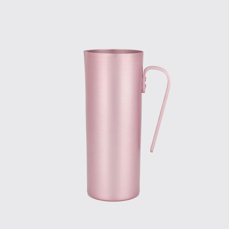 Matte Rose Aluminium Pitcher