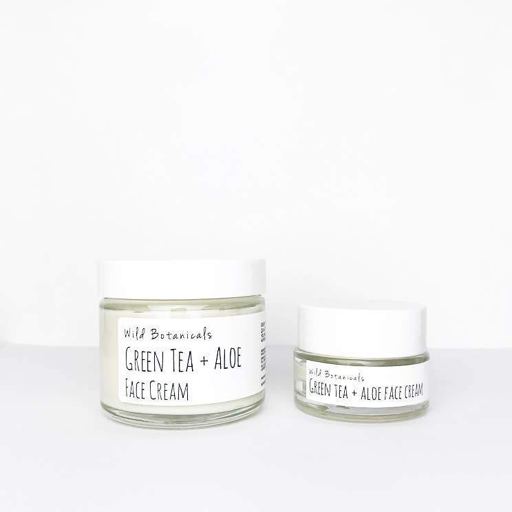 Wild Botanicals - Green Tea and Aloe Face Cream