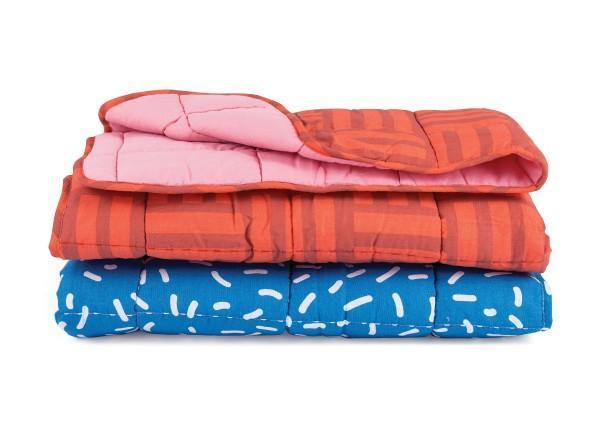 Pantomine Baby Blankets - Raspberry Rectangles