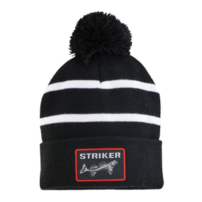 Striped Pom Hat - Striker Store