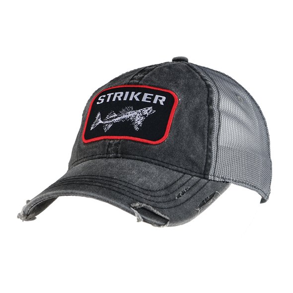 Distressed Trucker Cap - Striker Store