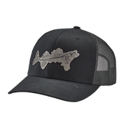 Fossil Fish Patch Trucker Cap