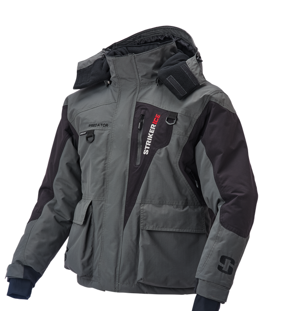 Gray Predator Jacket Side