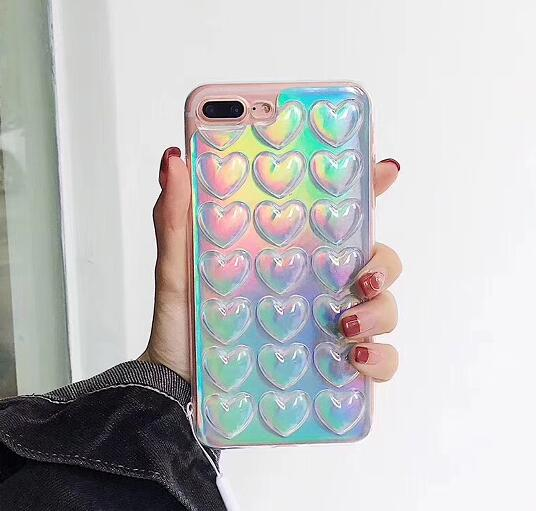 CASE IPHONE HOLOGRÁFICA 2