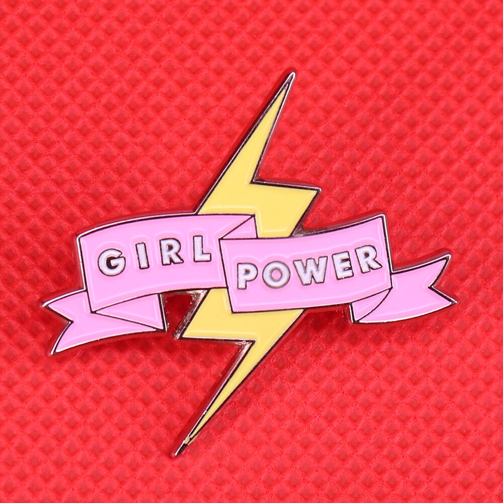 BROCHE GIRL POWER