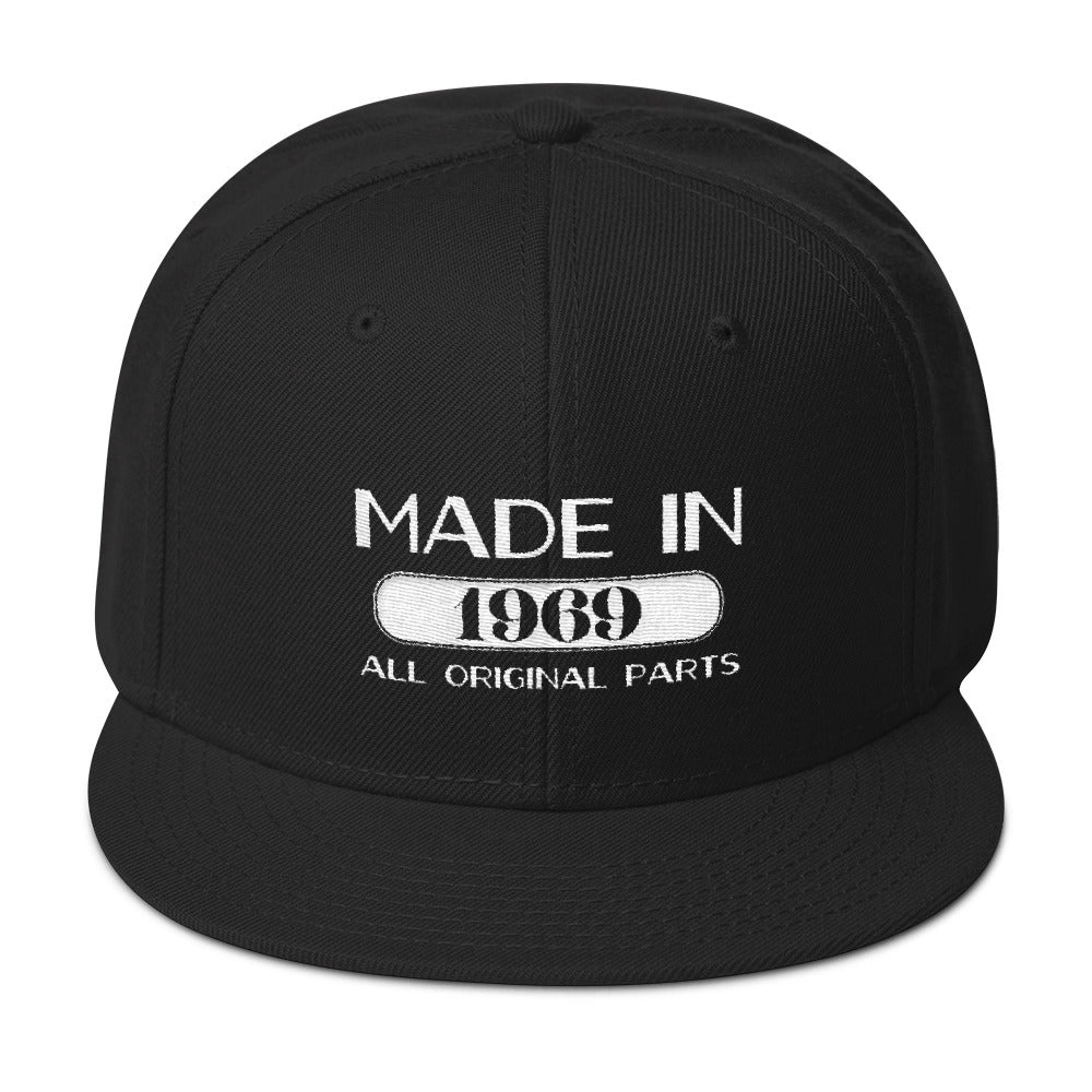 Made in 1969 Snapback Hat