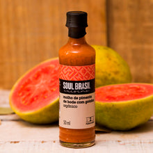 Load image into Gallery viewer, DE-ÖKO-005 Bode Chilli Pepper und Guava Hot Sauce | 50ml Chilisauce | exotischer Mix aus Chili und Frucht