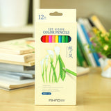 Nature story color pencils for drawing 12 18 24 36 different colores pencil set Crayon Stationery Office school supplies lapices