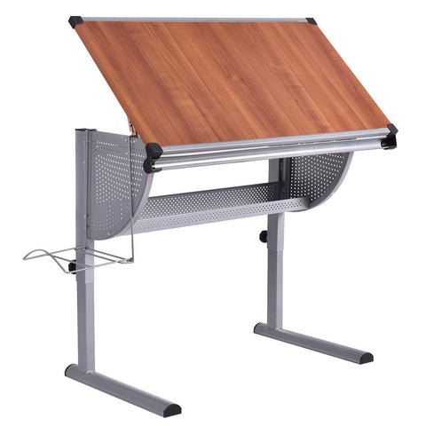 Costway Drafting Table Drawing Desk Adjustable Art & Craft Hobby Studio Architect Work
