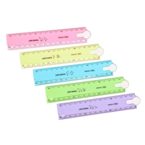 Multifunctional Folding Plastic Straight Ruler For Children Creative Student Gift Office Stationery