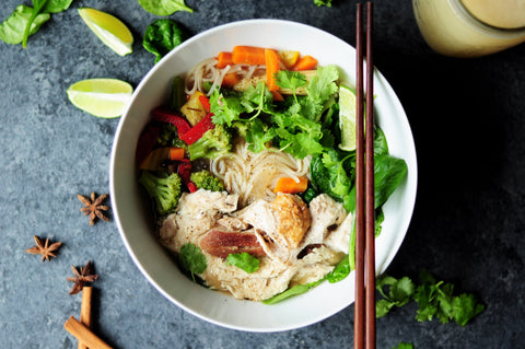 Bowl Of Asian Pho - How To Travel Without Travelling Blog