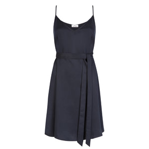 V Neck Spaghetti Strap Dress - Cat Turner