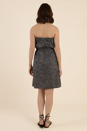 Strapless Cotton Dress - back