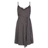 Black Polka Dot Dress - Cat Turner