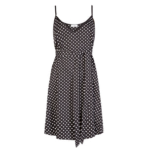 Polka Dot Cotton Dress - Cat Turner