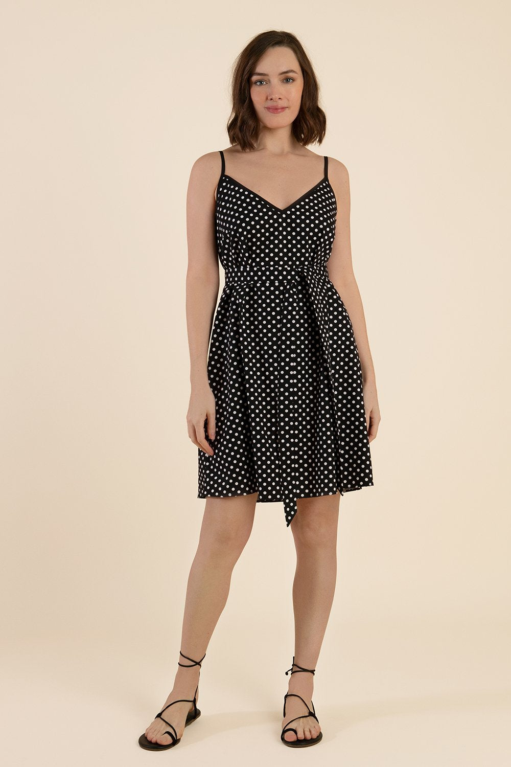 Polka Dot Cotton Dress