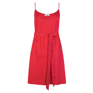 Red Polka Dot Summer Dress