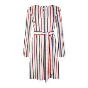 Striped Cotton Kaftan - Cat Turner