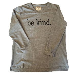 """Be Kind"" V-Neck Pullover"
