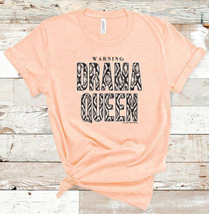 Drama Queen Short Sleeve Crewneck T-shirt