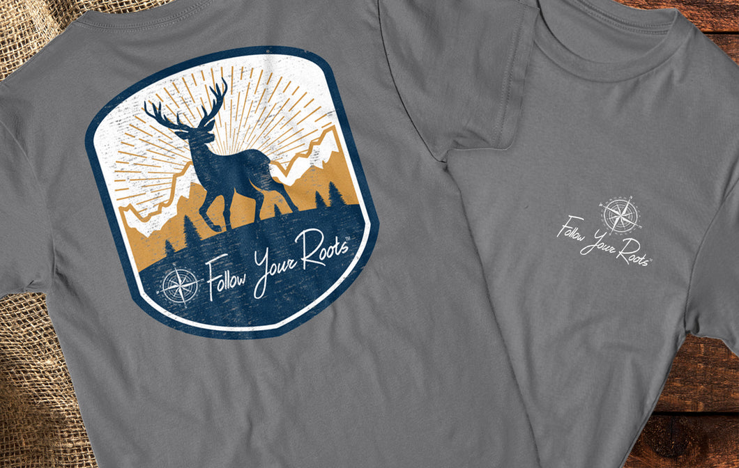 FYR Deer Short Sleeve Crewneck T-shirt