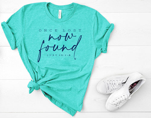 Once Lost, Now Found Short Sleeve Crewneck T-shirt