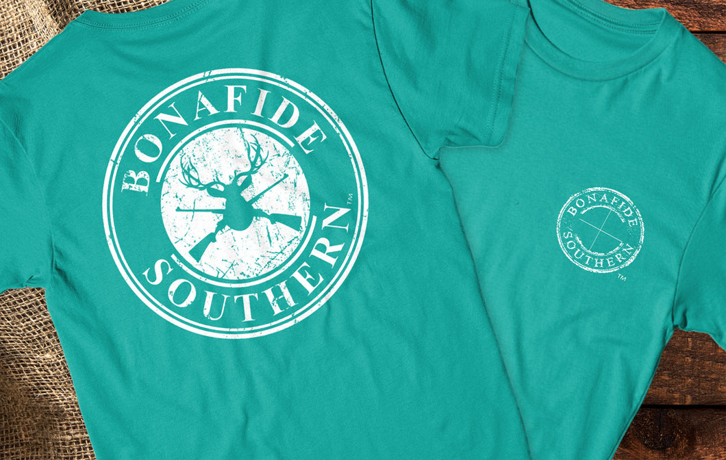 Bonafide Deer Short Sleeve Crewneck T-shirt