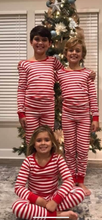 Load image into Gallery viewer, Children's PJ onesie with snaps
