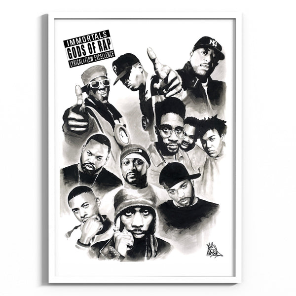 Poster - Gods Of Rap