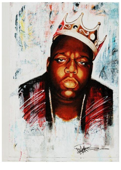 Print - Notorious Big