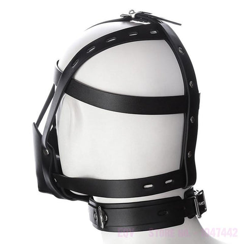 Bondage Harness Mouth Mask With Ball