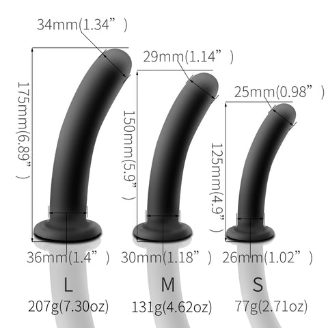 Pack de 3 Dildo anal men