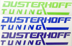Dusterhoff Tuning Decals
