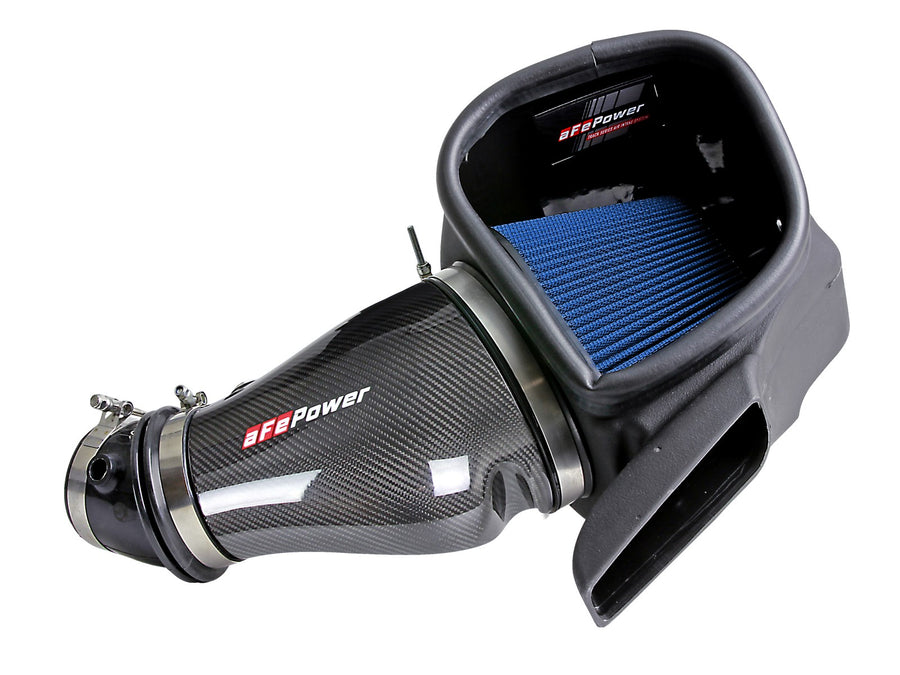 AFE Track Series Carbon Fiber Cold Air Intake System w/Pro 5R Filter Jeep Grand Cherokee Trackhawk (WK2) 2018 V8-6.2L (sc)